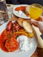 Full English Breakfast - The Bottle Shop, Paris