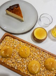 Cheesecake with Corn Bread -- Blueizar, Bilbao, Spain