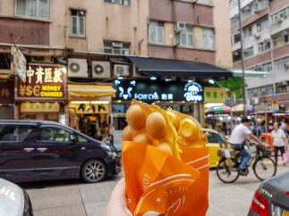 Eggette Waffle -- Hong Kong