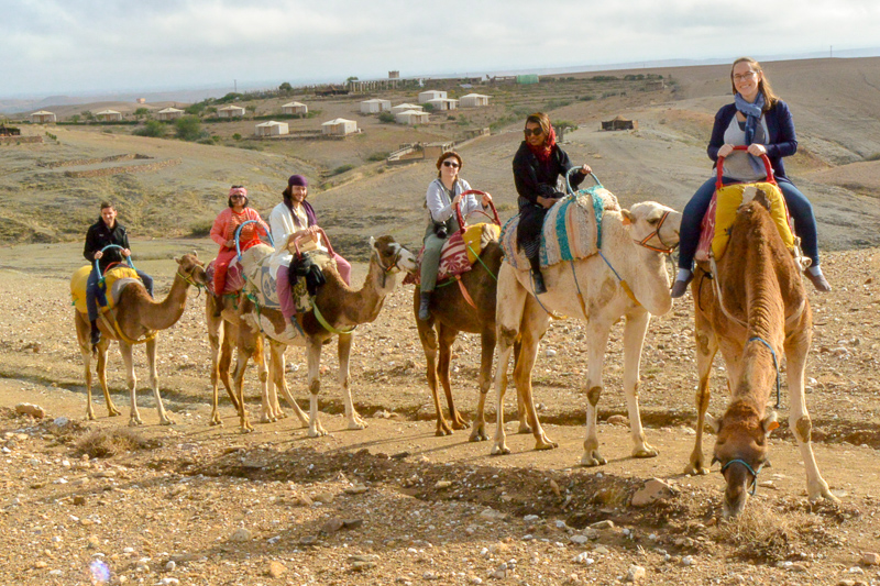 Marrakech excursions – Overnight desert tour from Marrakech