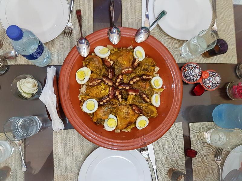 rfissa on the marrakech food tour