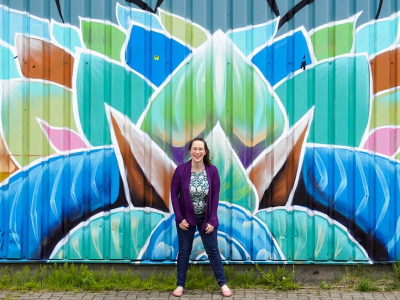 Jessica in NDSM Amsterdam