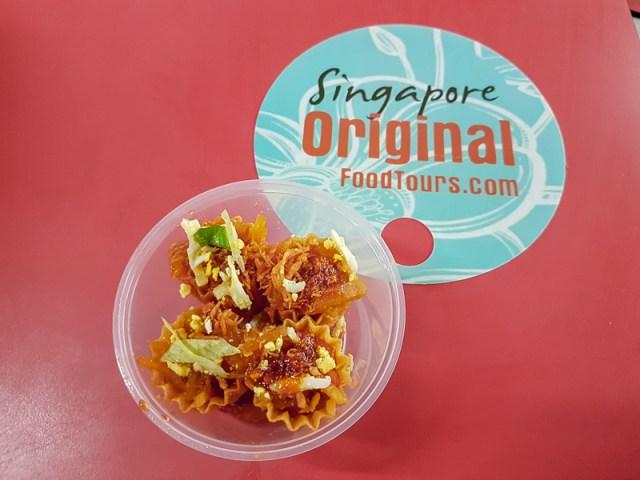 Kueh Pie Tee Singapore Food Tour