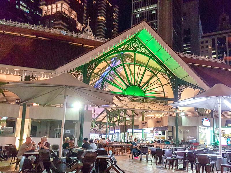 Singapore Hawker Center