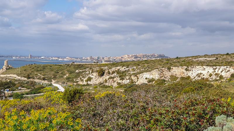 Overlooking Cagliari