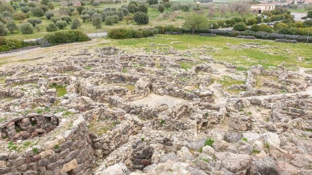 Su Nuraxi di Barumini - inside wall
