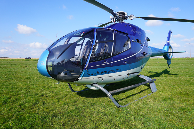 Helicopter tour Holland