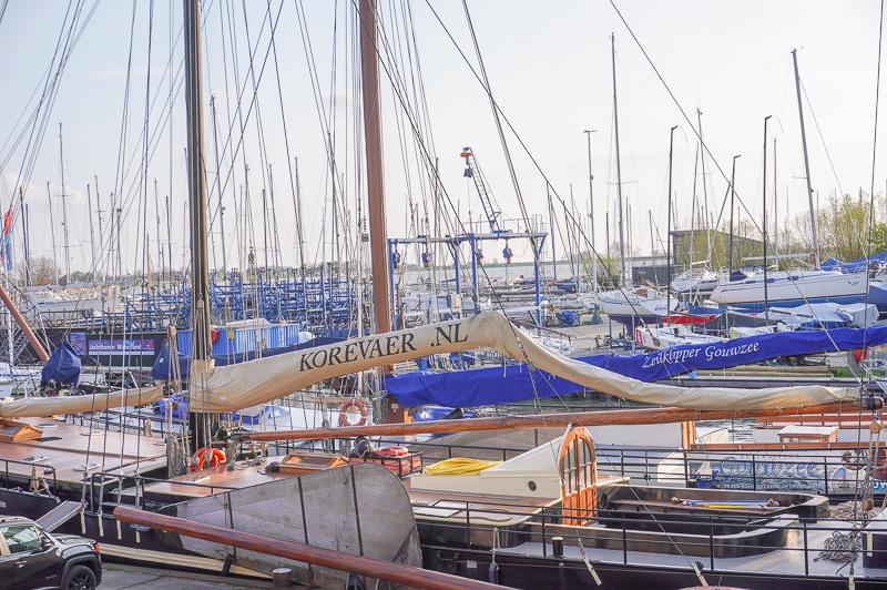 harbor in Monnickendam