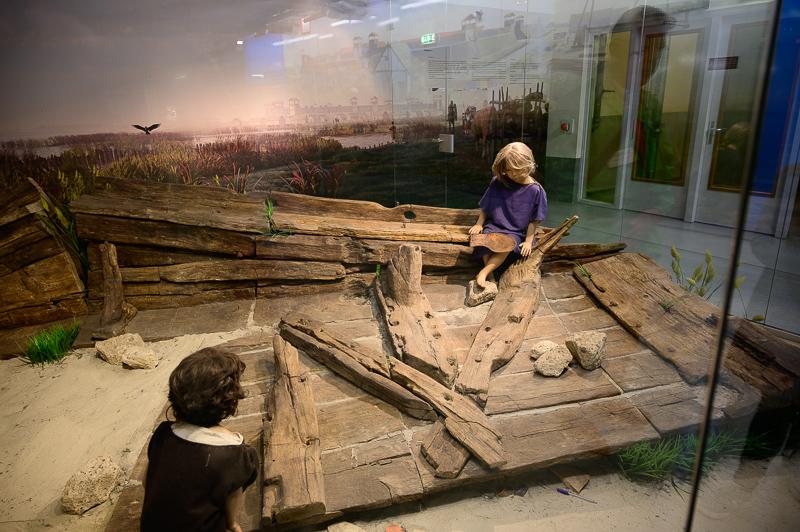 Roman boat in Woerden
