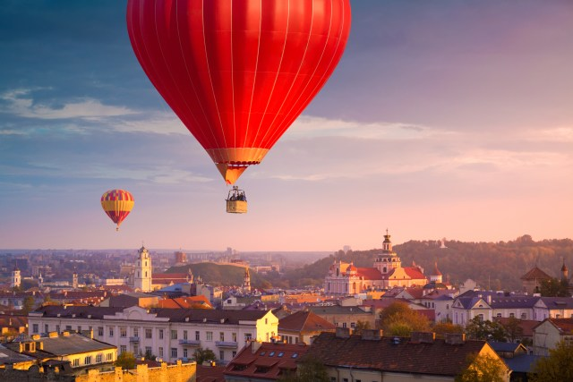 Tinggly Hot Air Balloon Experience Vilnius; Photo courtesy of Tinggly
