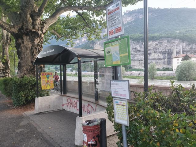 Trento Flixbus stop