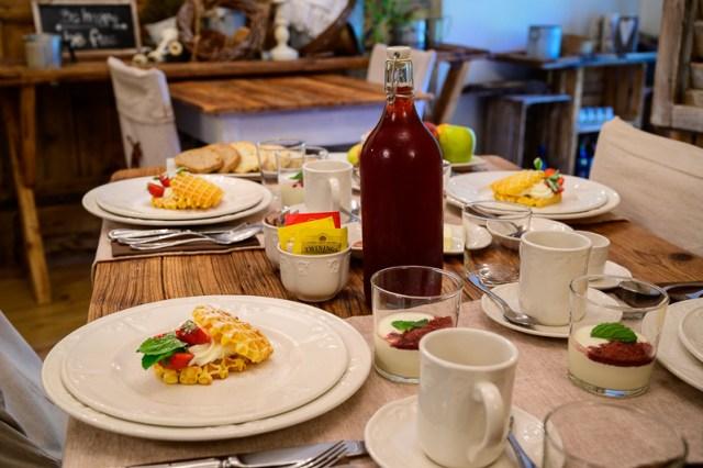 Trentino - Berry House breakfast