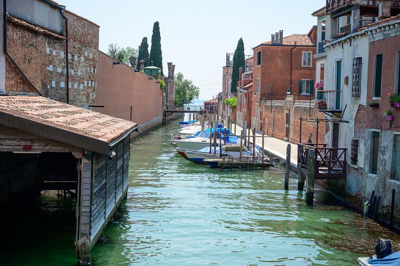 Canals on Giudecca
