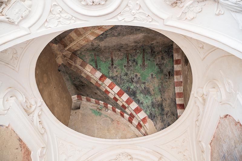 Fresco at Aragonese Castle