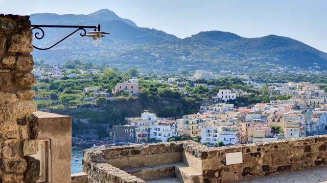 View from castle in Ischia