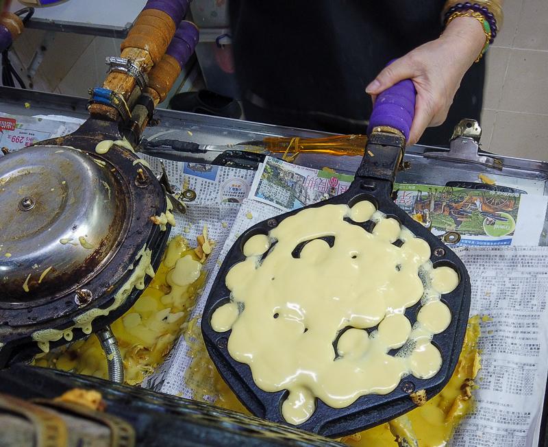 Egg waffles