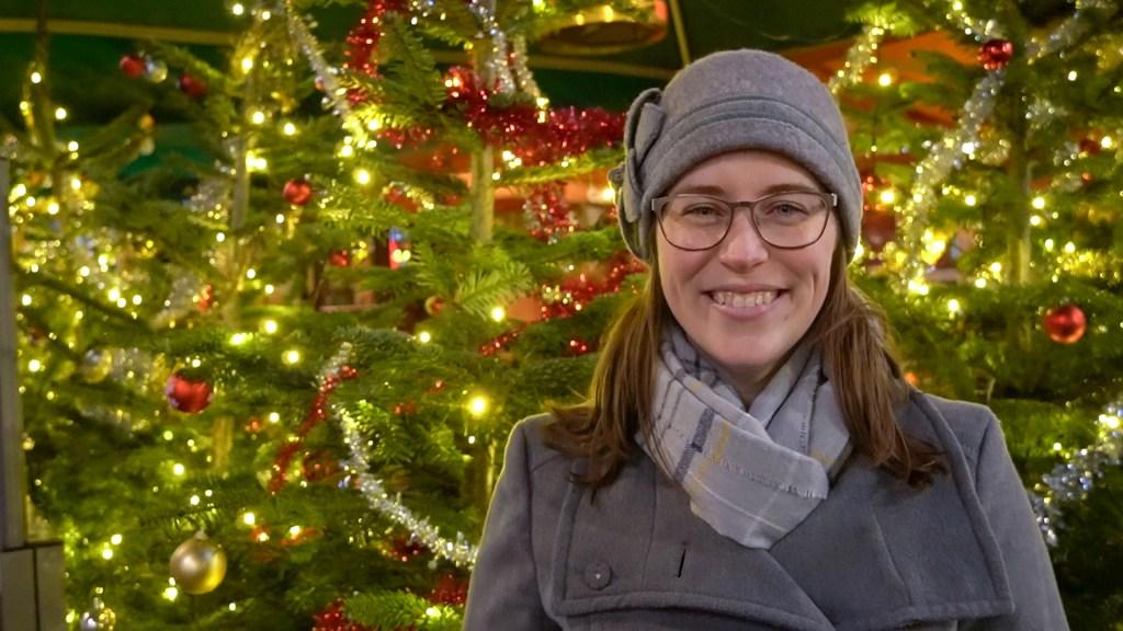 Jessica at Christmas