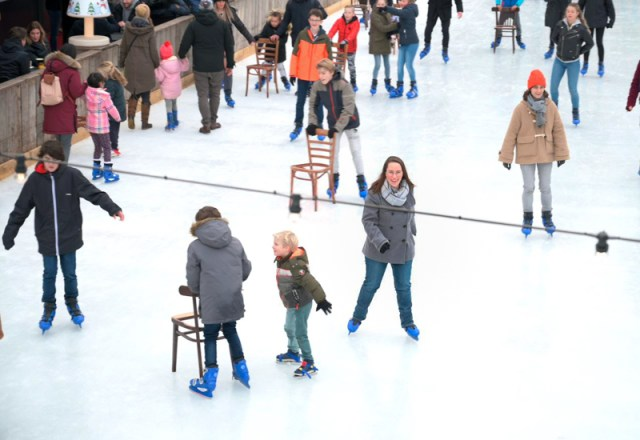 Jessica at ice rink