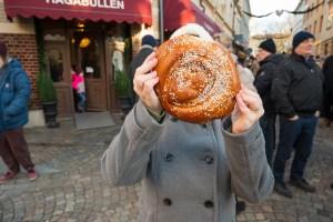 Swedish cinnamon bun