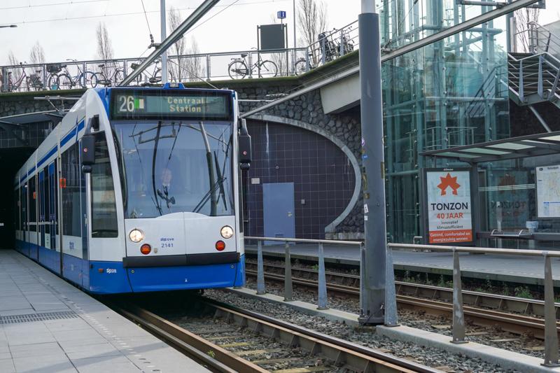 Tram 26 Amsterdam