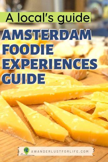 foodie amsterdam travel guide Pinterest