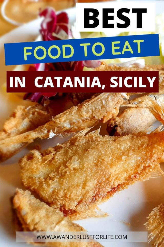 Best food to eat in Catania, Sicily (Italy) pin