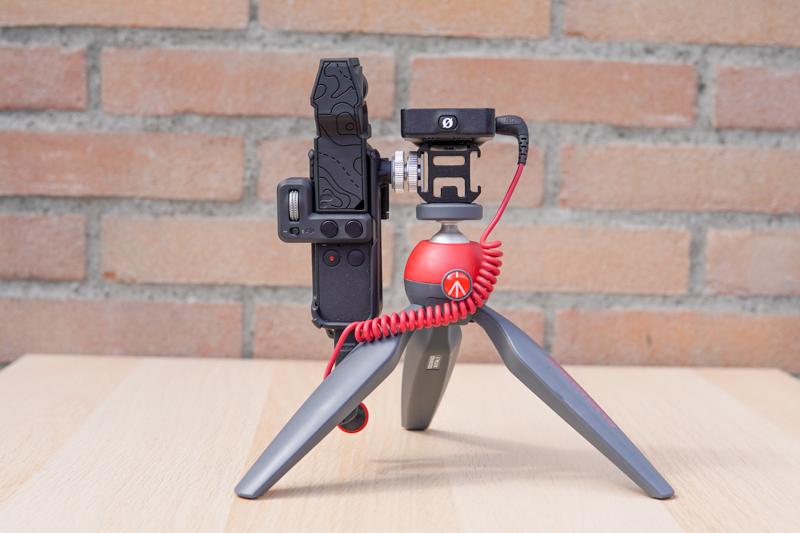 Osmo Pocket with tripod