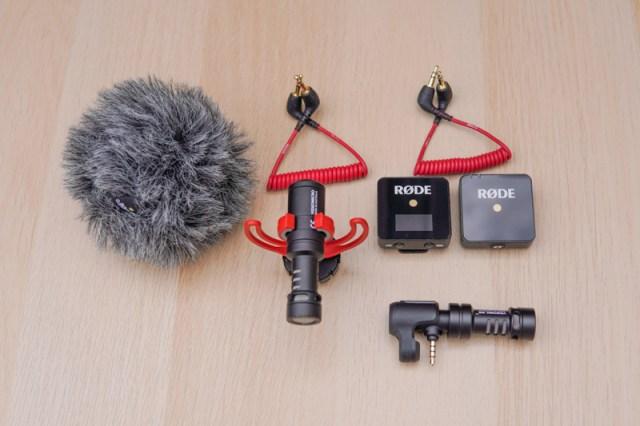Vlogging audio