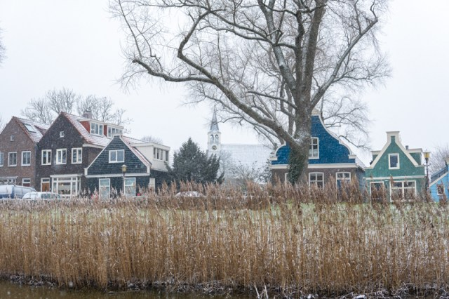 Winter in Amsterdam Noord