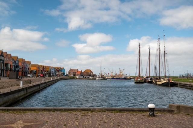 Stavoren harbor in Friesland Netherlands