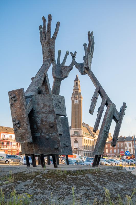 Charleroi sculpture