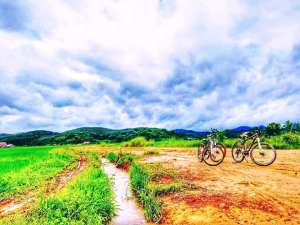 Cycling in Luang Nam Tha, Laos