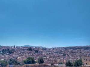 View of Medina of Fez from Andalus