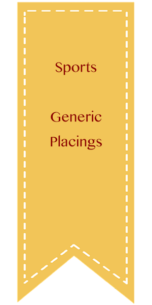 Sports, Generic Placings