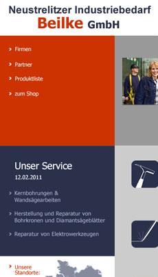 Webseitenerstellung Webdesign Anja Wießmann Neustrelitz