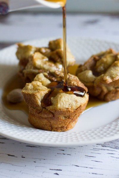 Pumpkin Spice French Toast Cups