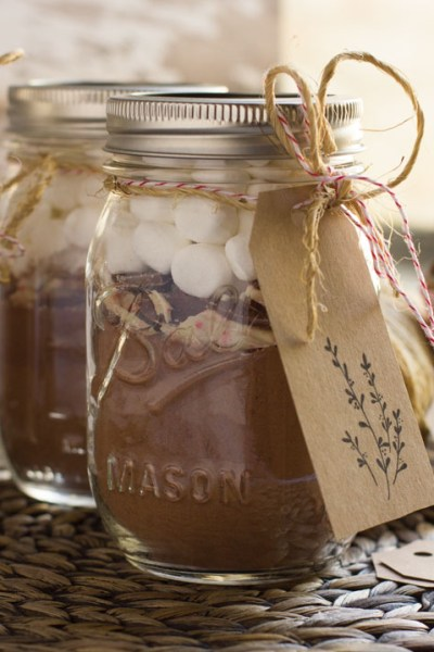 Hot Chocolate Gifts + Free Gift Tag Printable