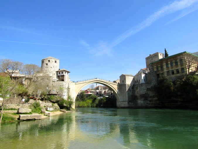 As of 2012 I couldn't remember which was the Balkans and which was the Baltics... // Mostar, Bosnia & Herzegovina