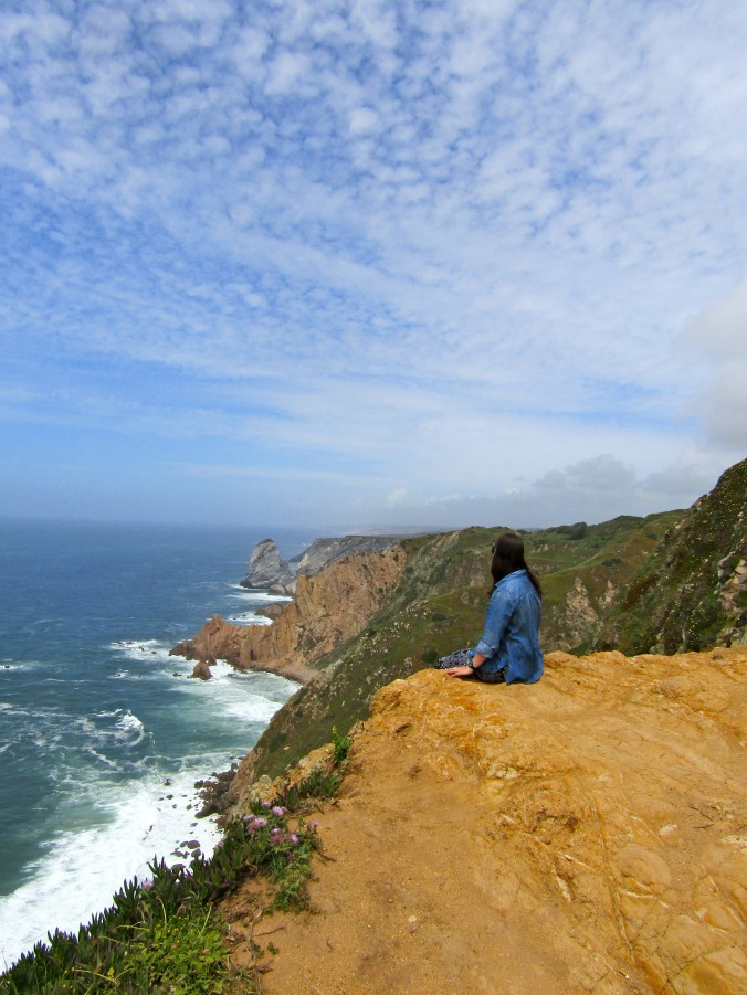 Hanging out by myself in Portugal! // Cabo da Roca, Portugal