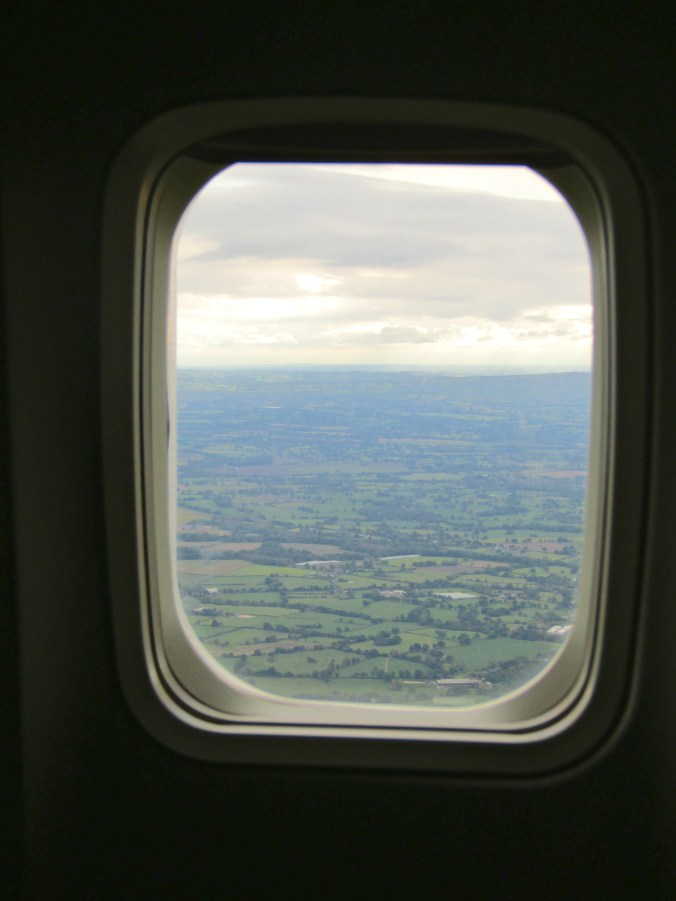 My first glimpse of England!