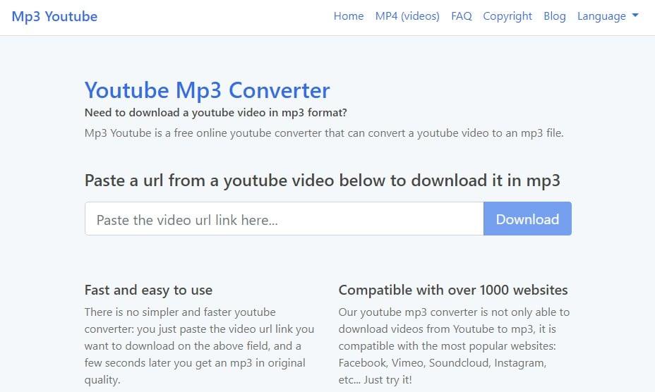 Website similar to convert2mp3