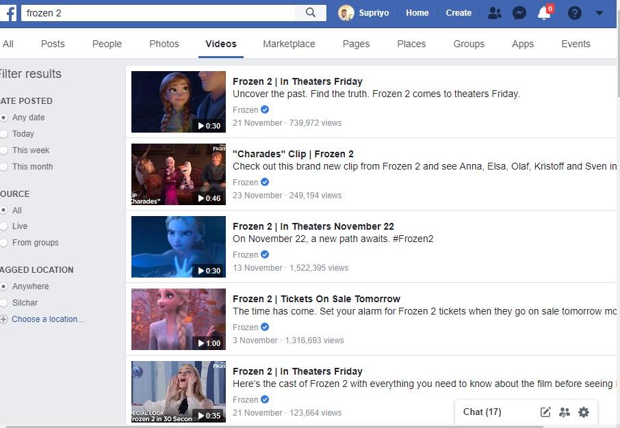 facebook frozen 2 streaming free like 9anime