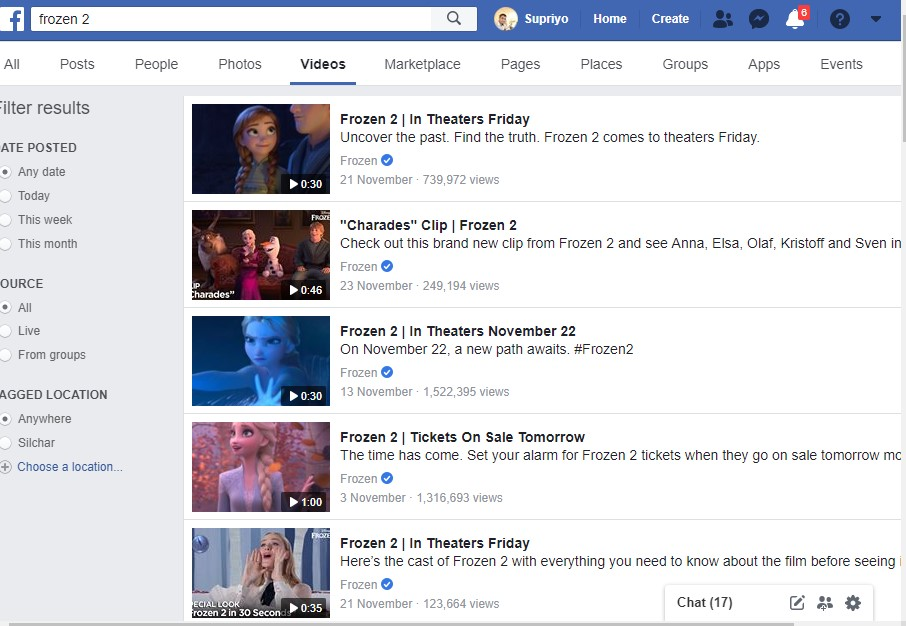 facebook frozen 2 streaming free like 9anime