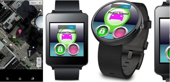 MyCar Locator android app