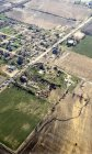 Aerial picture of the tornado path and damage in Fairdale. (Source: @jessycamalina)