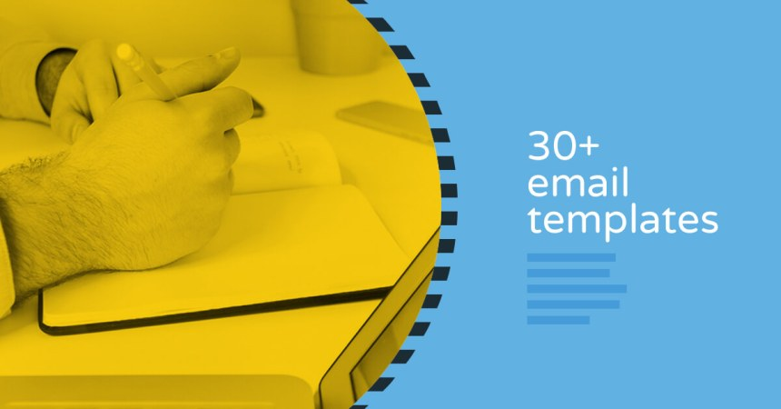 30+ email templates