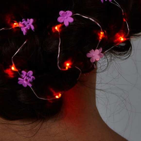 cabelo luzes natal