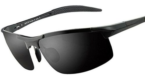 Duco Men's Sports Style Polarized Sunglasses