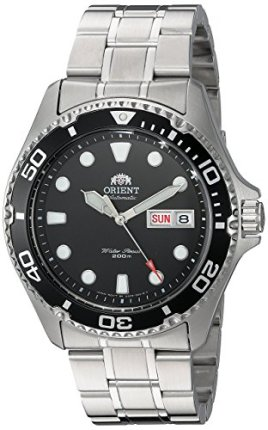 Orient FAA02004B9 Ray II Analog Automatic Stainless Steel Diving Watch