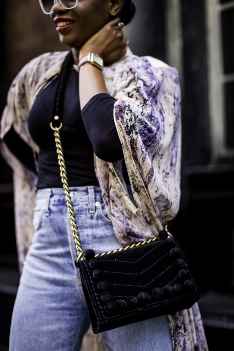 How to style a long kimono and ripped jeansfor fall and NYFW | Awed by Monica | Atlanta Lifestyle & Fashion Blog-17